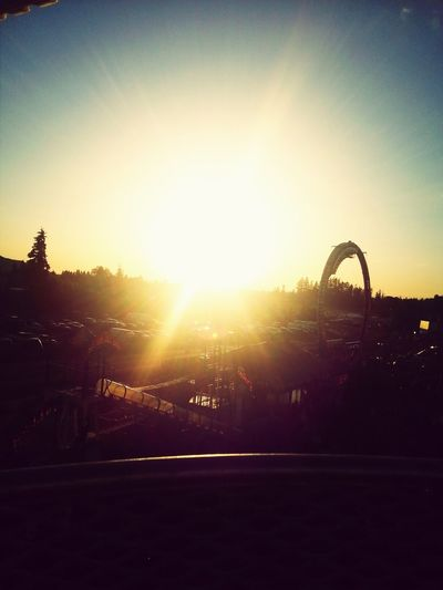 Toyasphotography Top Of The Farris Wheel Sunset Fun
