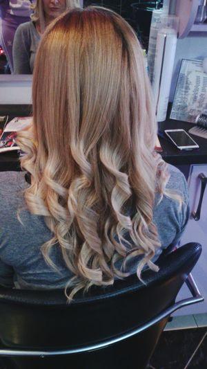 Hairstyle Hairdresser Ombre Hair Blue Hair Hairsalon Hairsa