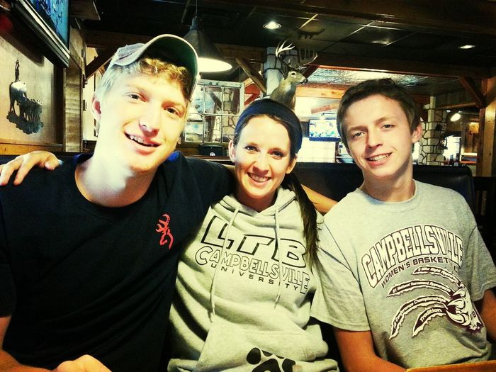 Lunch with my favorite kids CampbellsvilleU