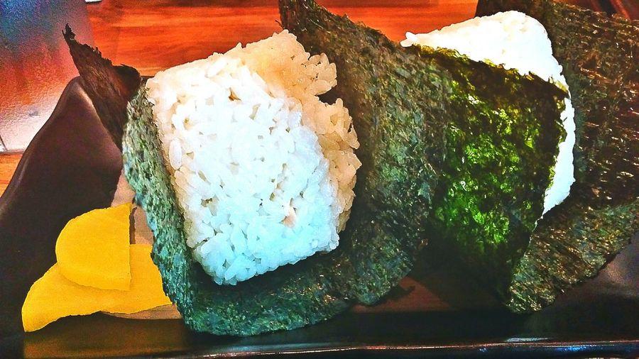Onigiri Japanese Restaurant Japanese Style Japanese Food Foodgasm Food Photography Food Porn Food EyeEm Gallery EyeEm