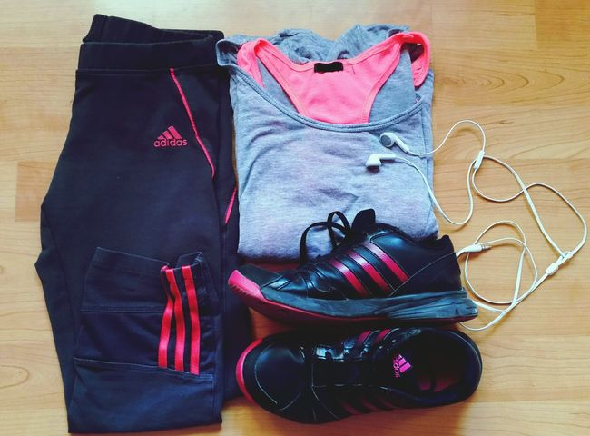 Sport Workout Running Healthy Fitness Keepfit Pink Adidas Suit Socool