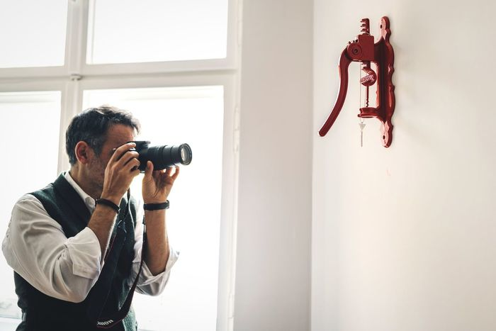 Professionalism 📷 Professional Photographer Professional Necklace Red Unrecognizable Person Minimalism Passion Photographer In The Shot Model Accessories ❤ Fashion Photography Camera Work Photography In Motion Indoors  Photography Themes Camera - Photographic Equipment Photographing Window One Person Holding Photographer Standing One Man Only Men Technology Only Men Young Adult Adult Adults Only People