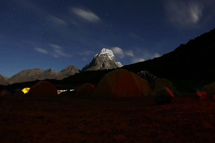 Camping Expedition Khumbu Nature Nepal Base Camp Beauty In Nature Climbing Climbing Equipment Everest Extreme Sport Extreme Sports Himalaya Horizon Landscape Mountain Mountain Peak Mountain Range Mountaneering Nature Night Outdoor Stars Sunset Tent
