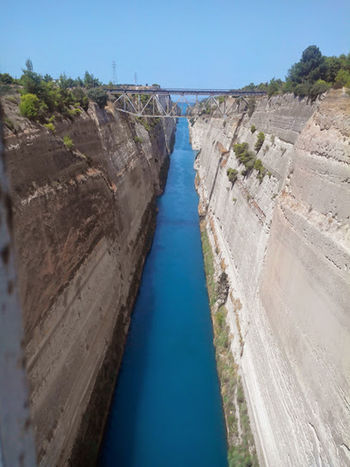 Corinth GREECE ♥♥ Travel Photography Places You Must To See Places To Visit Architecturephotography Architecture_collection Naturephotography Vacations Picture Travel Destinations Corinth Greece Corinth Canal Greece Photos Greece Memories Landscape_Collection Travelphotography Nature_collection Landscape_collection EyeEmNatureLover Architecture Photography Architecturelovers Architectural Detail Boats And Sea