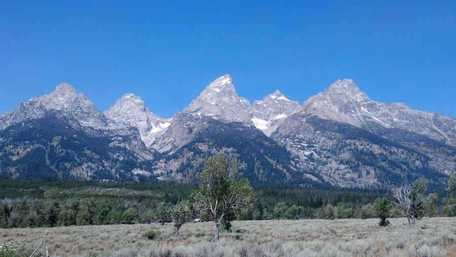 Grand Teton Grand Teton National Park  Grand Teton National Park, Wyoming Grand Tetons Grand Tetons National Park Tetons Grand Teton Mountain Mountain Range Tranquil Scene