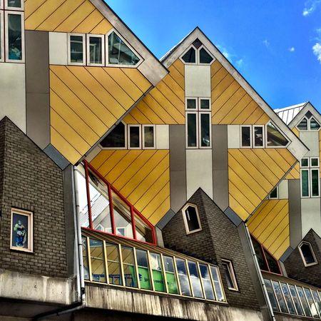 The Architect - 2015 EyeEm Awards Rotterdam Kubuswoningen Netherlands Blaakse Bos Piet Blom ARCHITECT