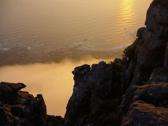 Capetown Southafrica Southafrika Tafelberg