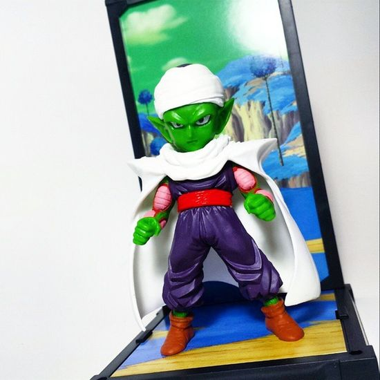 Found this guy at one of my local hobby stores! Dragonballz Dragonball DBZ Tamashiinations BANDAI Funimation Piccolo Namek Namekian Goku Anime Tamashiibuddies Toys Toyphotography Toypizza Toysarehellasick Toycollector Toycommunity Toycollection