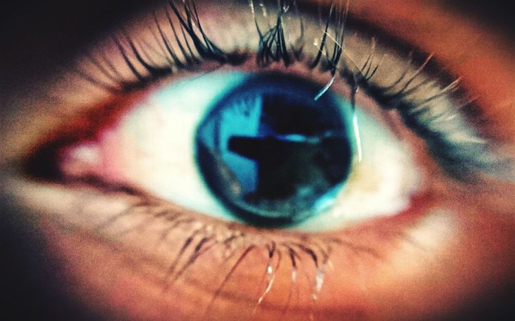 Human Eye Human Body Part Eyesight Eyelash Close-up Sensory Perception Reflection Extreme Close-up One Person Real People People Iris - Eye Adults Only Eyeball Adult Indoors  One Man Only Big Brother - Orwellian Concept Day XperiaZ5