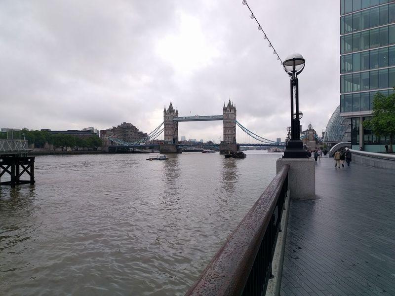 Architecture Bridge - Man Made Structure Cloud - Sky Engineering River Tourism Tower Bridge  Transportation Water