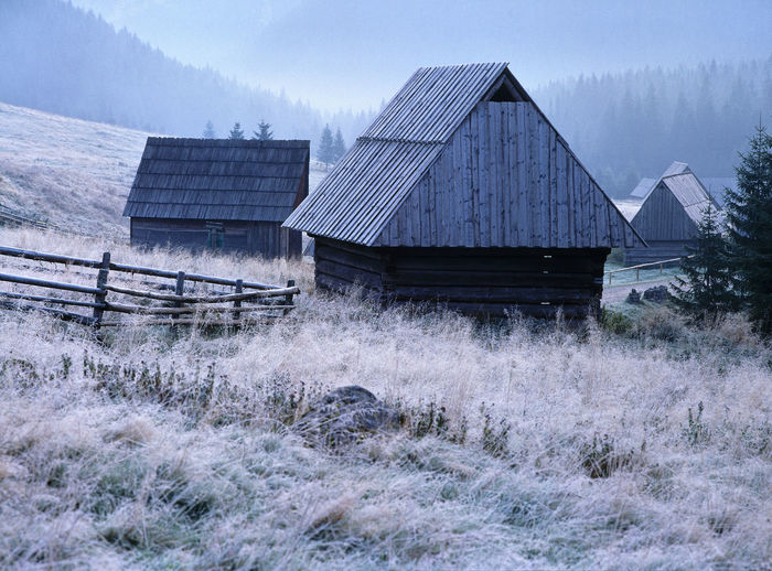 Poland Autumn Chocholowska Chochołowska Day Hut Huts Mountain National Park Nature No People Outdoors Polana Chocholowska Polen Schelter Sheperd Sheperd Live Shepherd's Hut Tatry Tatry Mountains Wooden Wooden House