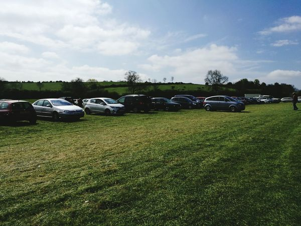 Outdoors Cars Car Boot Sale Cloud - Sky Beauty In Nature Car Park Sunny Day Day No People Sky