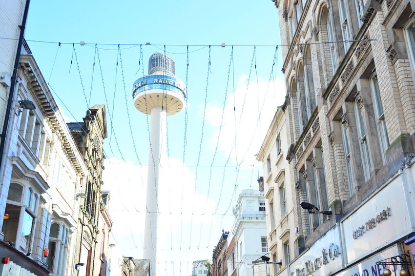 Tower Sky Streetphotography Daytime Stroll NoEditNoFilter No People EyeEm Nikon D5200 Day Liverpool Built Structure Allmyphotography