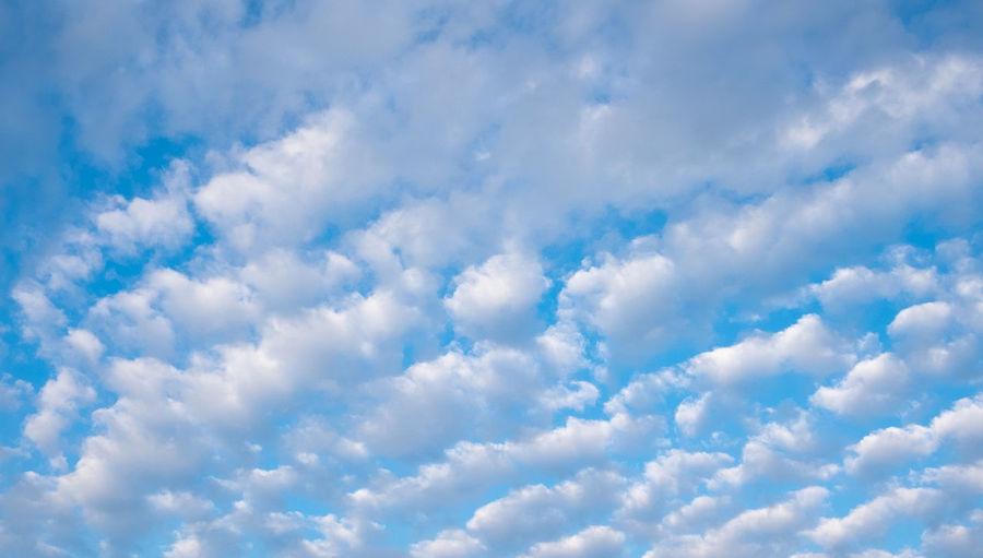 blus sky with