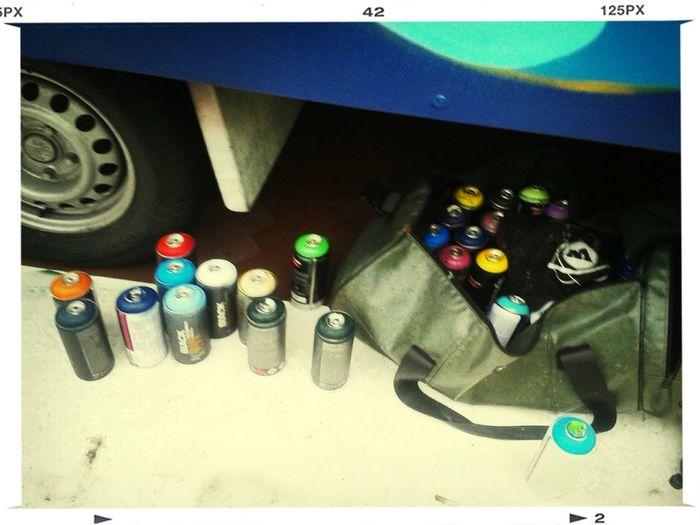 Spraycan Grafitti Streetart Artistic