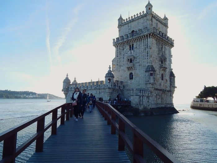 Travel Destinations Architecture History Travel Day Vacations People Architecture Lisbon Belem Tower