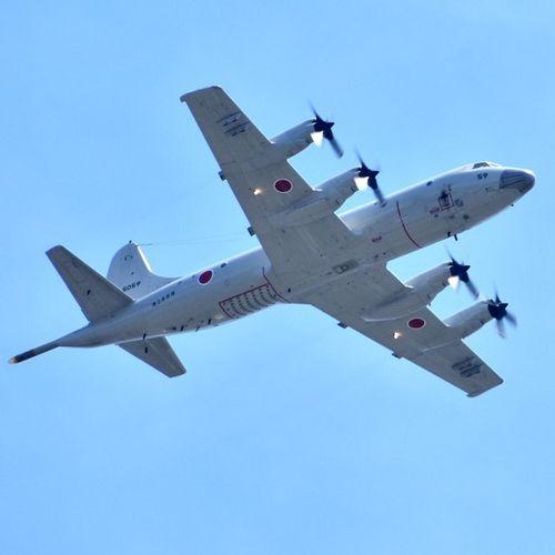 Lockheed P-3C of Japan maritime self defense force. Lockheed P3C Airplane Sky Fighter Plane Selfdefenseforce Japan
