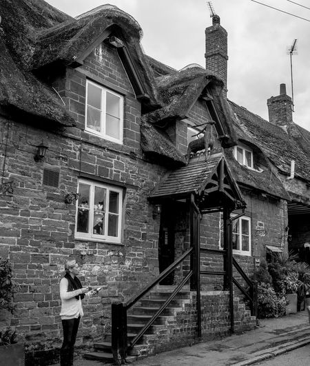 The Fox and Hounds (Althorpe Coaching Inn), Great Brington, Northamptonshire Architecture Great Brington Northamptonshire Monochrome Blackandwhite Monochrome Photography Black And White FUJIFILM X-T2 Village Architecture Pubs Northampton Pubs