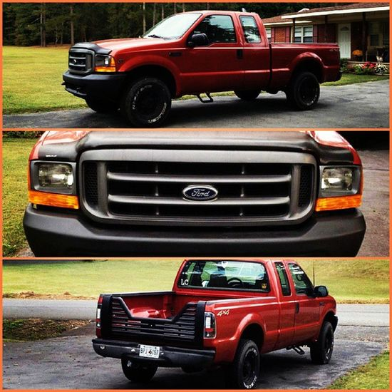 Miss my truck!!! F250 Ford 4x4 Orange black