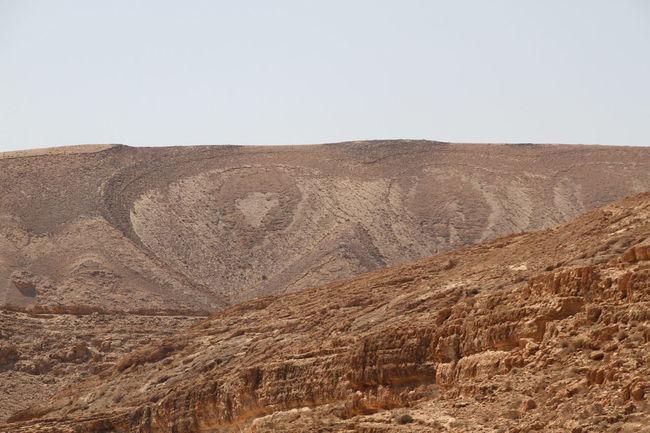 "Felsformation ""Die Eule"". Midès nahe der Grenze von Algerien. Beauty In Nature Desert Landscape Mountain Nature Outdoors"