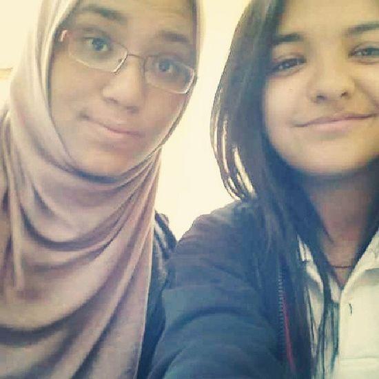 Selfies with this cutie <3 Loveher Ayla  School