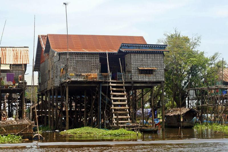 Around Tonle Sap Lake - Cambodia Architecture Cambodia Float Khmer Photography Photooftheday Siemreap Tonlesap Travel Travel Photography Traveling Water Wood