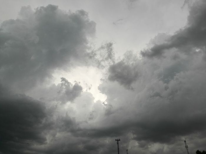 Thunderstorm Tree Storm Cloud Sky Cloud - Sky