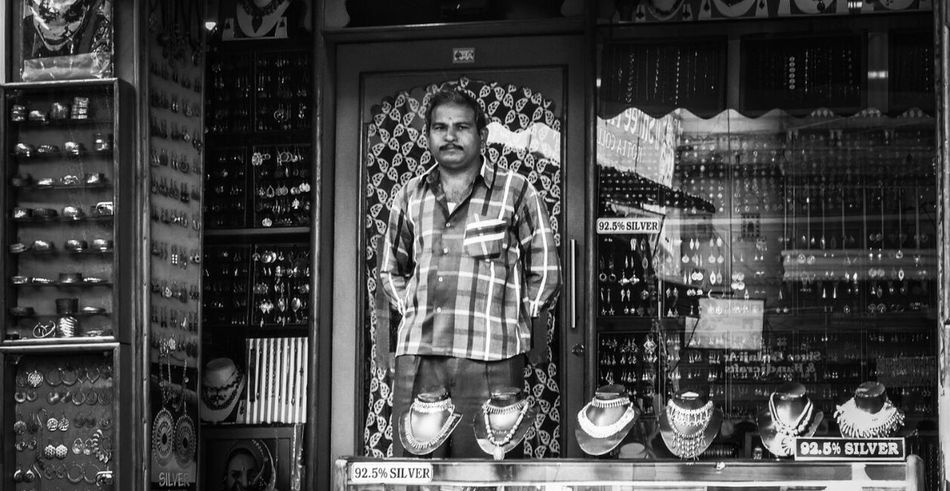 Indoors  One Person Day Handicraft Silveraccessories Udaipur. India Shop Streetphotography Streetphoto_bw Indiapictures Streetphotographyindia Indianphotographer Black & White Fine Art Photography