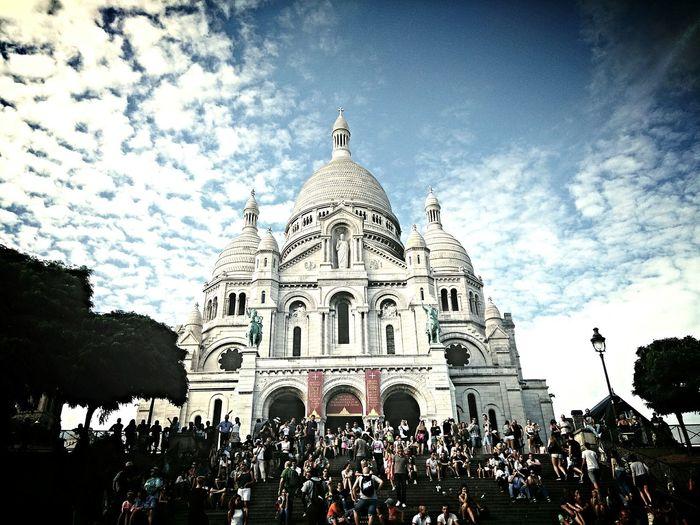 Paris Paris, France  La Basilique Du Sacré Coeur De Montmarte Photography Travel Travel Photography