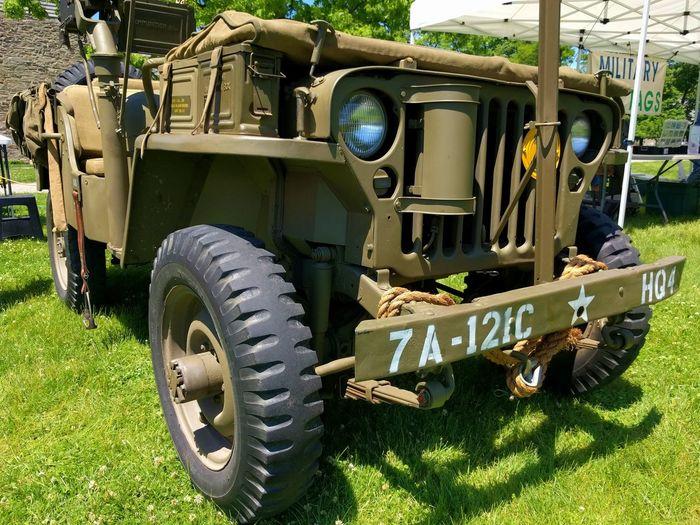 WW2 Jeep Land