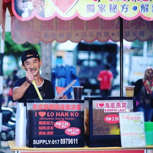 Air penyejuk badan Gaya Street - Kota Kinabalu , Sabah Gayastreet Kotakinabalu Sabah Negeribawahbayu Tourism Malaysia Reflexsology Market Pasar Vscomalaysia Vscography VSCO