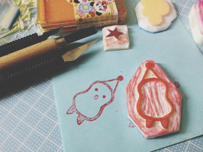 My first attempt, still noob at this and need a lot more practice -_- Rubber Stamp Inspiration Noobie Arts And Crafts