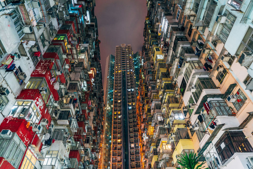 Montane Mansion Yick Fat Yick Fat Building HK Low Angle View Architecture Building Exterior Built Structure City Night No People Outdoors