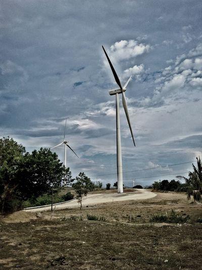 "The Photo was taken in San Lorenzo Guimaras, Philippines!. ""The Windmill"""