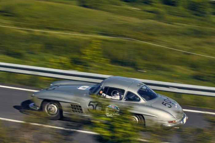 Mille Miglia Road Race Mille Miglia 2016 Classic Car Gullwing Mercedes-Benz Need For Speed
