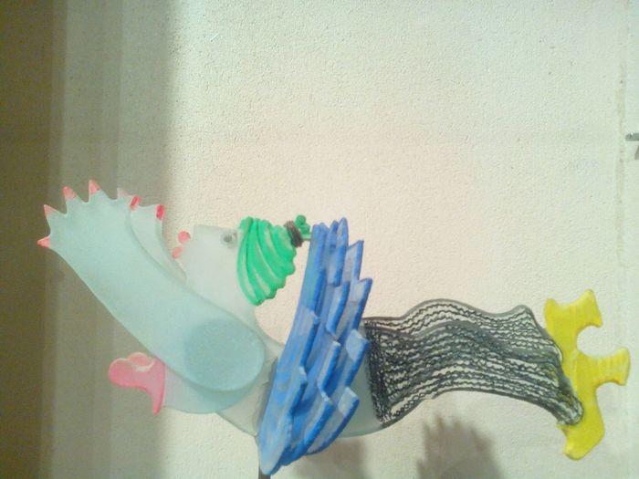 Marcoville artiste sur verre