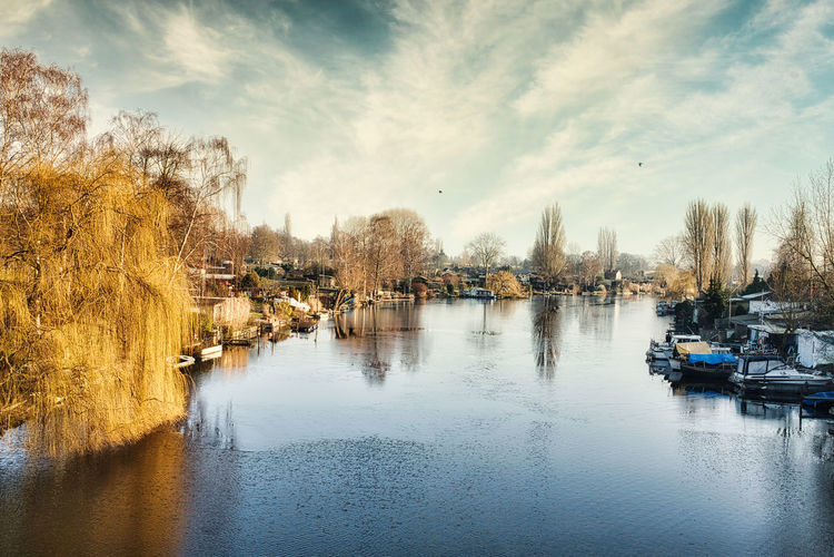 Bille river in