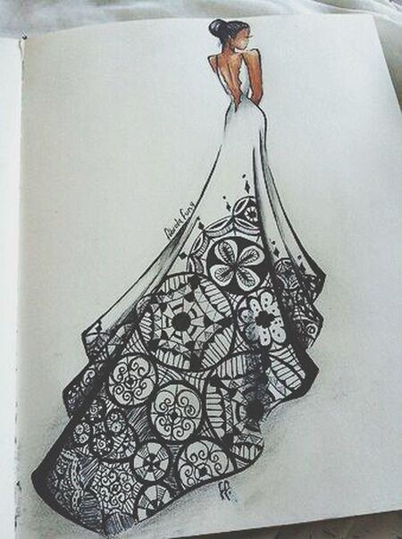 Bridal Fashion Black & White Talent Appreciation