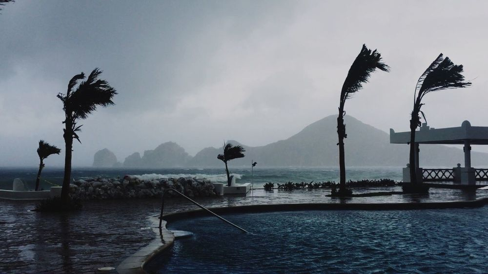 Hurricane Blanca Cabo CaboSanLucas Tropical Storm Storm Hurricane Blanca