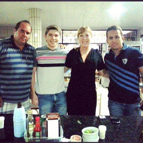 Jantar com os gerentes de venda de MG da fornecedora case, comemorando os anos de parceria. Grupouniao Maquinascase Nathandoliro