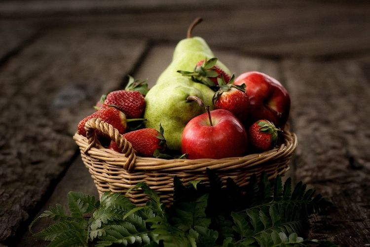 Basket Fruit Red Food Freshness Healthy Eating Still Life StillLifePhotography Still Life Photography