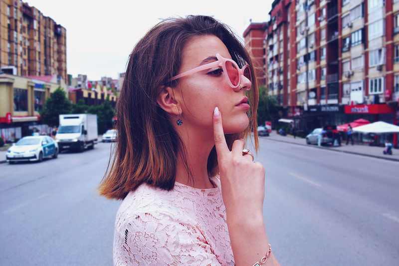 prom Photo Photography Eye4photography  EyeEm Gallery EyeEm Best Shots Art Sunglasses City Fashion Film Photography Film Photoshoot Kosova PRISHTINA Prom City Young Women Beautiful Woman Beauty Street City Street Car Standing Sky The Fashion Photographer - 2018 EyeEm Awards