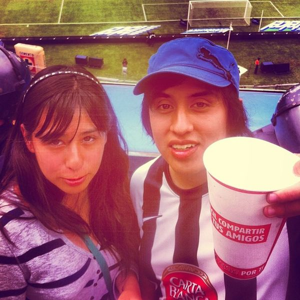 Sister Me Rayados Estadioazul mexico df monterrey laadiccion hinchas beer drunk ligabancomermx ligamx