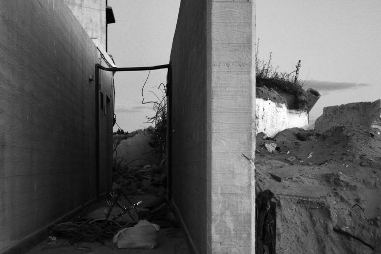 Adventure Club Ruin Ruins Teardown Wreckage Concrete Concrete Jungle Beach Showcase July Adventure Building Urbex Urbexexplorer Blackandwhite Black & White Black And White Canon Canonphotography Canon 70d Canon_official Canon EOS 70D Canon Eos  Canon_photos Dunes Seaside Adapted To The City