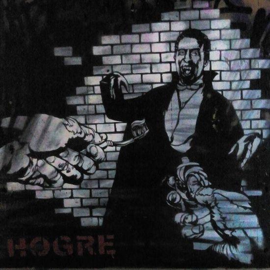 Powisle Dracula Graffiti Most Przejście