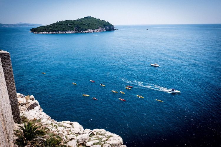 Dubrovnik Dubrovnik, Croatia Dubrovnik Stand Up Paddling Water Sea Scenics - Nature Beauty In Nature Tranquil Scene Tranquility Land Nature Outdoors