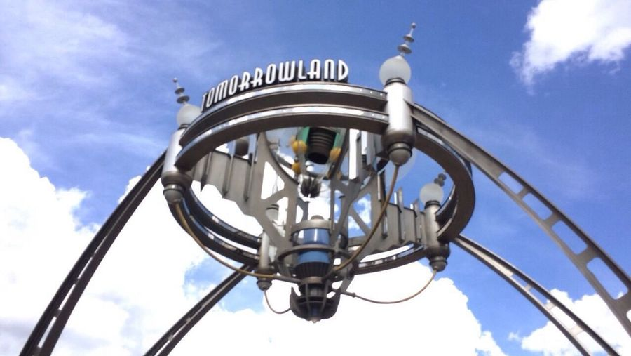 Magic Kingdom DisneyWorld Disney Low Angle View Tomorrowland Happiestplaceonearth Outdoors Sky Cloud - Sky