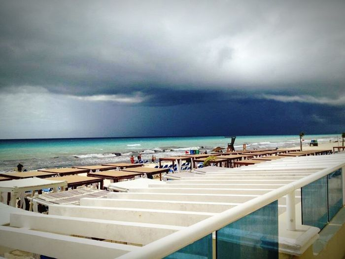 Passing Hurricane Ernesto Cancun Mexico Scary Passed 2012 Photography By@Amy Shakeshaft