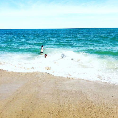 Swimming Waves