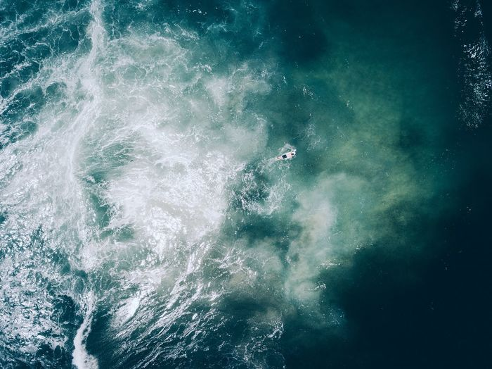 Water Sea Nature Beauty In Nature No People Day Waterfront Motion Outdoors High Angle View Swimming Sport Scenics - Nature Backgrounds Full Frame Tranquility Aquatic Sport UnderSea